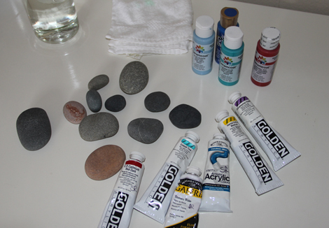 Rocks-and-paint